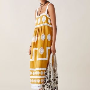ZARA WOMAN LIMITED EDITION EMBROIDERED DRESS M